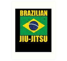 Brazilian Jiu-Jitsu (BJJ) Art Print
