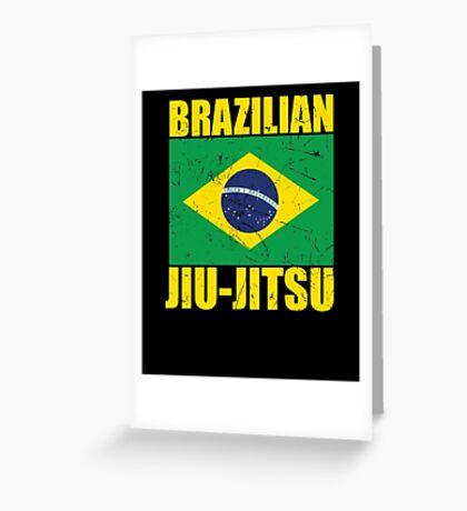 Brazilian Jiu-Jitsu (BJJ) Greeting Card