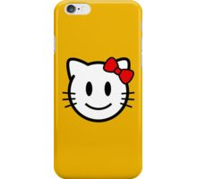 Smiley Kitty iPhone Case/Skin