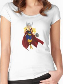 Ms Thor Women's Fitted Scoop T-Shirt