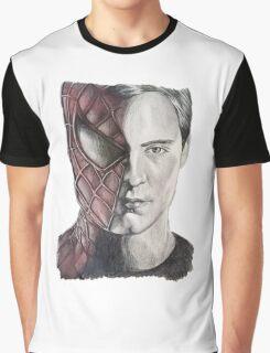 Spiderman/Peter Parker Graphic T-Shirt