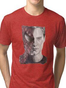 Spiderman/Peter Parker Tri-blend T-Shirt