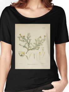 The botany of the Antarctic voyage of H M  discovery ships Erebus and Terror in the Years 1839 1843 Joseph Dalton Hooker V1 019 Women's Relaxed Fit T-Shirt