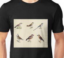 Naturgeschichte in Bildern mit erläuterndem Text E Strack 1820 Lief 2 Birds 065 Unisex T-Shirt