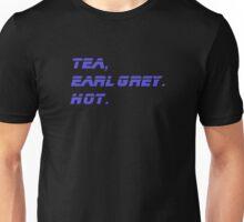 Tea, Earl Grey, Hot - T-Shirt Quote Unisex T-Shirt