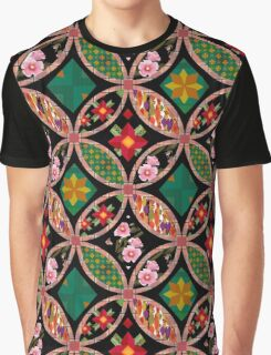Patchwork seamless floral pattern texture background with decorative elements Graphic T-Shirt