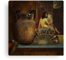 Still Life with Nude Canvas Print