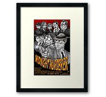 The Case of the Midnight Murderer Framed Print