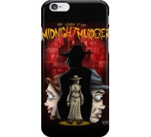 The Case of the Midnight Murderer: Scenes in Red iPhone Case/Skin