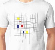 Sketchy Mondrian Unisex T-Shirt