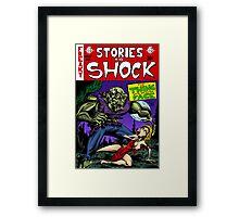 Stories To Shock Framed Print