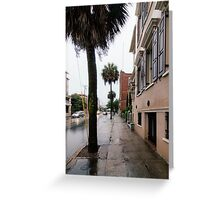 Rainy Street Greeting Card