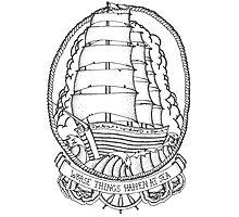 Traditional Ship Design Photographic Print