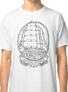 Traditional Ship Design Classic T-Shirt