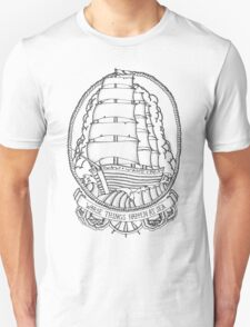 Traditional Ship Design Unisex T-Shirt
