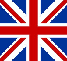 Union Jack (Red, White & Blue)  by sher00