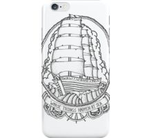 Traditional Ship Design iPhone Case/Skin