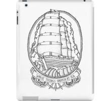 Traditional Ship Design iPad Case/Skin