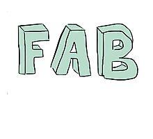 FAB  Photographic Print