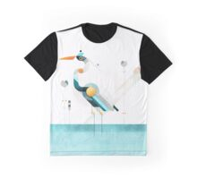 Blue heron Graphic T-Shirt