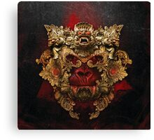 Planet of the Vampire Apes Canvas Print