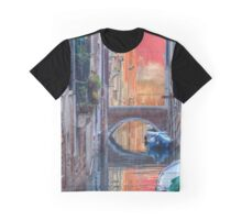 Canal In Venice Italy Graphic T-Shirt