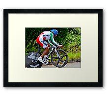 Cycling Olympics Framed Print
