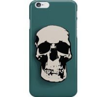 Skull - Sherlock iPhone Case/Skin