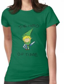 The Hero of Time Womens Fitted T-Shirt