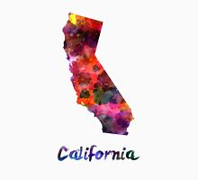 California US state in watercolor Unisex T-Shirt