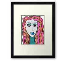 Mermaid 01 Framed Print
