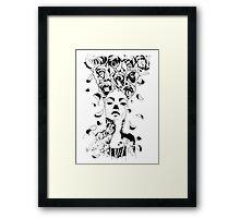 Florist - Fineliner Illustration Framed Print
