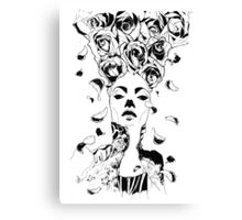 Florist - Fineliner Illustration Canvas Print