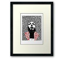 Grace - Fineliner Illustration Framed Print