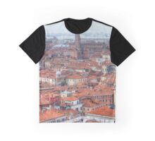 View From St. Mark's Campanile, Venice Italy Graphic T-Shirt