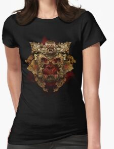 Planet of the Vampire Apes Womens Fitted T-Shirt