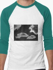 Cloudscape XVIII BW Men's Baseball ¾ T-Shirt