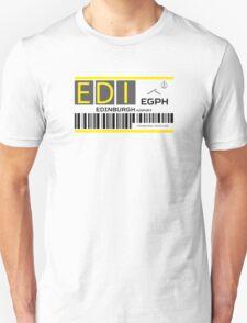 Destination Edinburgh Airport Unisex T-Shirt