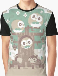 Wood Owl Woods Graphic T-Shirt