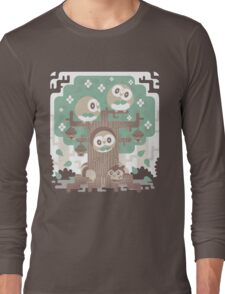 Wood Owl Woods Long Sleeve T-Shirt