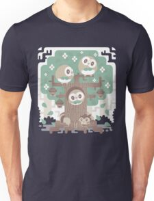 Wood Owl Woods Unisex T-Shirt