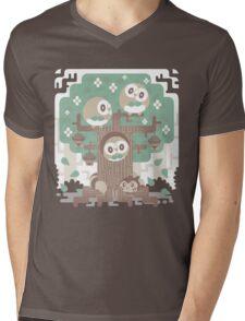 Wood Owl Woods Mens V-Neck T-Shirt