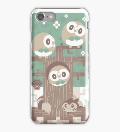 Wood Owl Woods iPhone Case/Skin