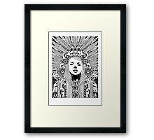 Kansas - Fineliner Illustration Framed Print