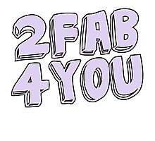 2 fab 4 you Photographic Print