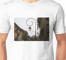 Charming Streetlamps in Old Town Nice, France, French Riviera Unisex T-Shirt