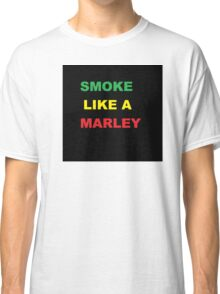 Bob Marley - Marley Smoke T-Shirt Classic T-Shirt