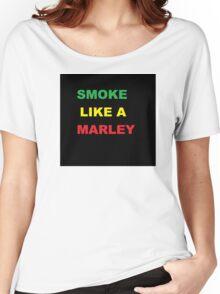 Bob Marley - Marley Smoke T-Shirt Women's Relaxed Fit T-Shirt