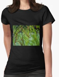Autumn Foliage in Australia 3 Womens Fitted T-Shirt