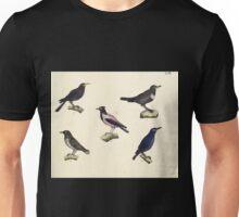 Naturgeschichte in Bildern mit erläuterndem Text E Strack 1820 Lief 2 Birds 057 Unisex T-Shirt
